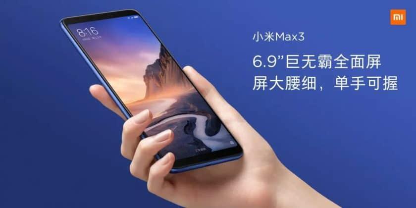 Xiaomi Mi Max 3 ufficiale