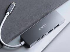 Aukey CB-C72 Hub USB-C recensione
