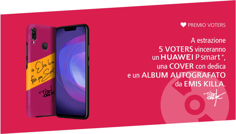 Huawei PSmart+ concorso
