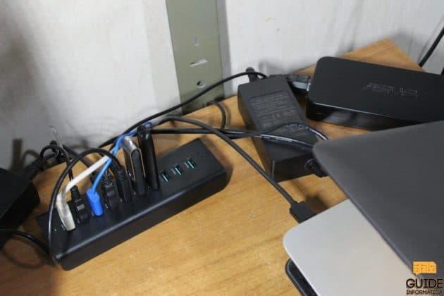 Hub USB Aukey CB-H18 recensione