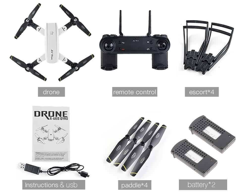 Drone pieghevole SG700 offerta lampo TomTop