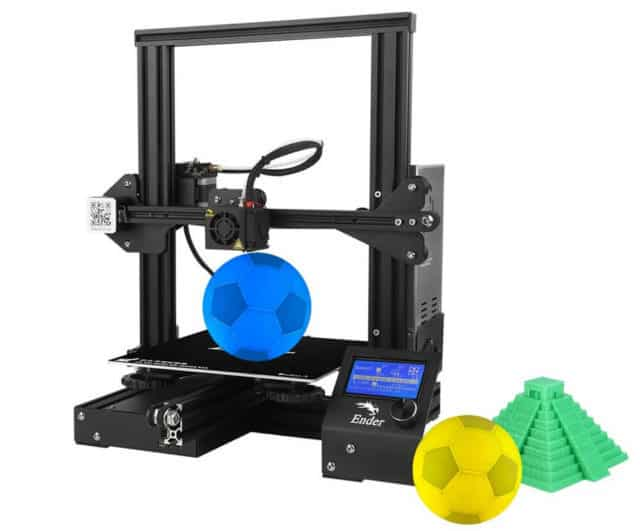Creality 3D Ender-3 Stampante 3D offerta lampo TomTop
