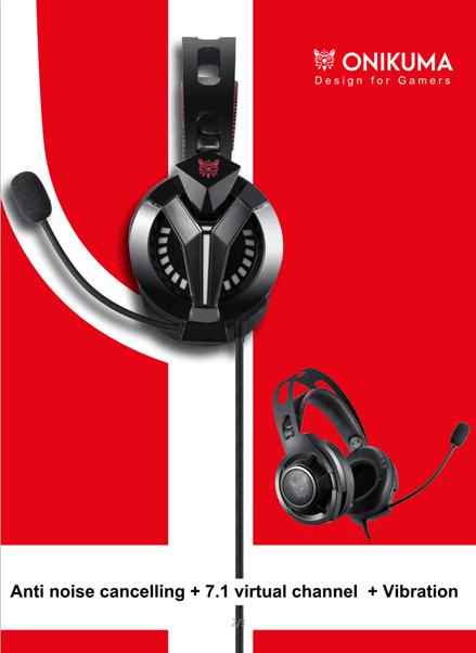 Onikuma K1 Pro e M180 Pro cuffie da gaming