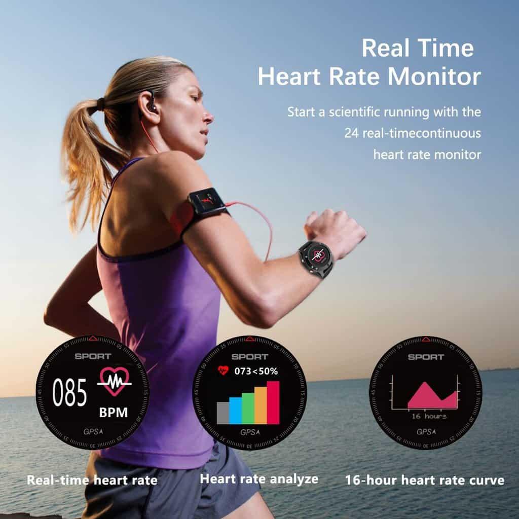 No.1 F5 smartwatch offerta Amazon