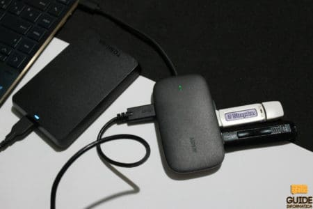 Aukey CB-C68 Hub USB-C recensione