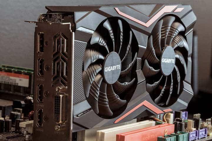 Gigabyte GeForce GTX 1050 Windforce OC 2 GB