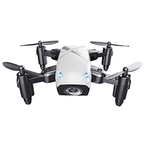 Micro-Drone pieghevole Quadcopter portatile