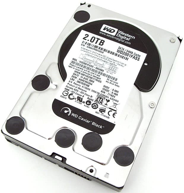 Western Digital Black 2 TB