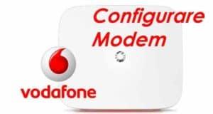 Come configurare modem Vodafone