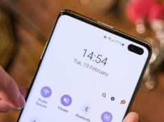 Come aumentare il numero di notifiche visualizzate nella barra di stato su Samsung Galaxy S10