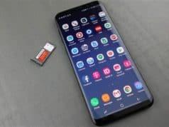 Come eseguire uno screenshot con un colpo di mano su Samsung Galaxy S9, S9 Plus e Galaxy Note 8