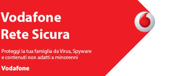 Come disattivare Vodafone Rete sicura dall'app My Vodafone