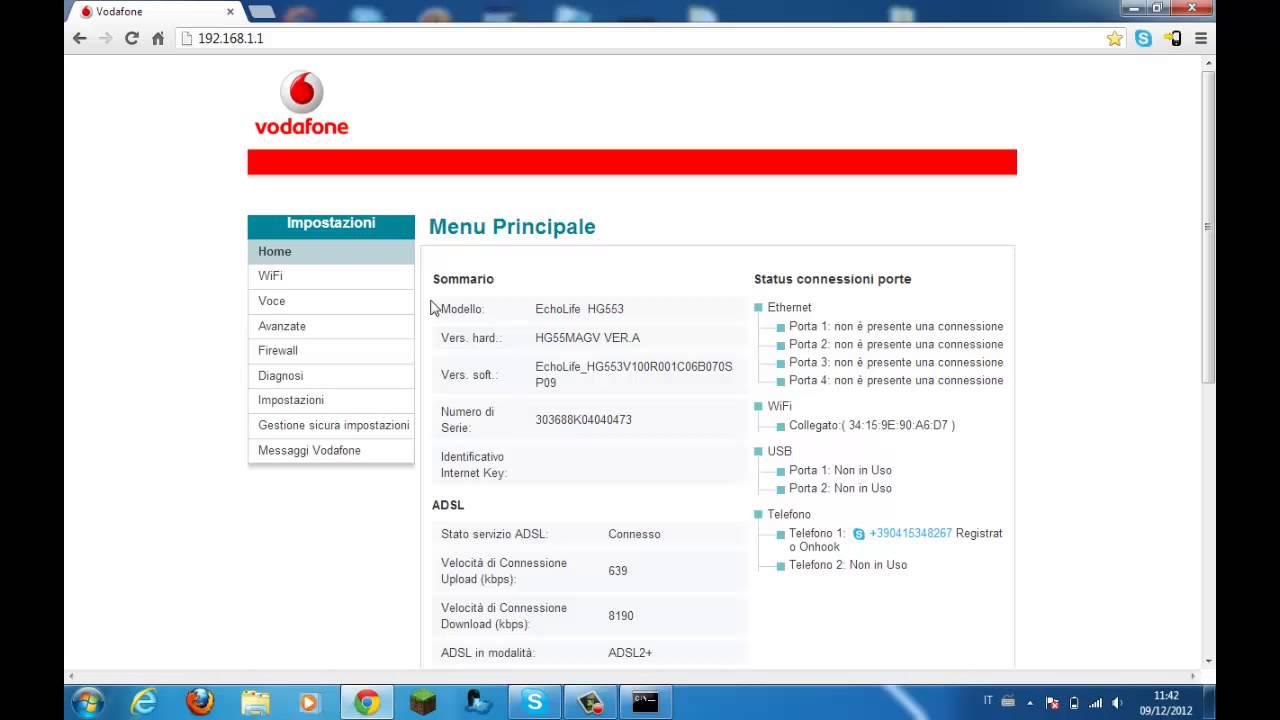 Come aprire le porte nella Vodafone Station