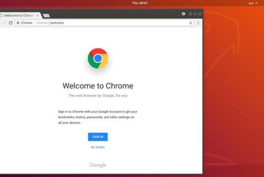 Come installare Google Chrome su Ubuntu 18.04