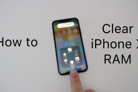 Come ripulire la RAM su iPhone X