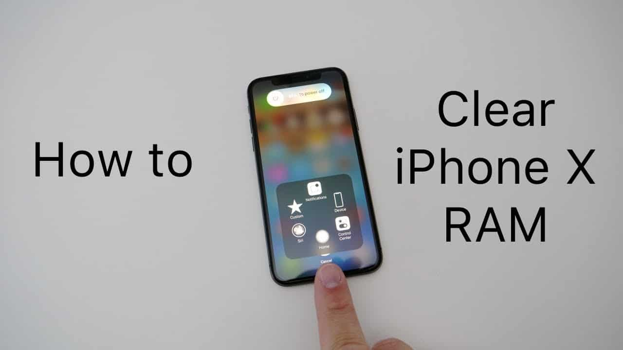 Come ripulire la RAM su iPhone X