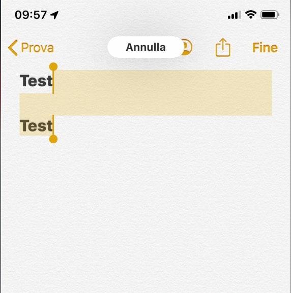 Come si usano le nuove gesture per copia, incolla, undo e cut su iOS 13