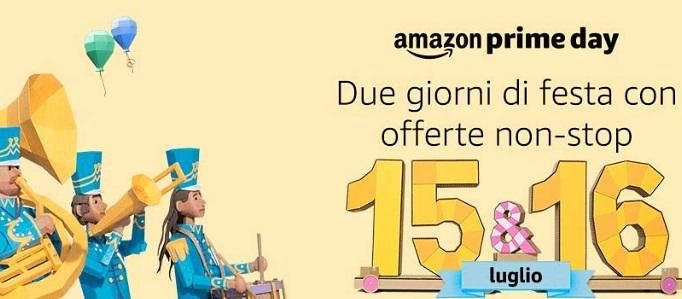 Account Amazon Prime gratis in vista del Prime Day