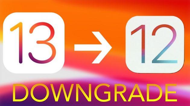 Come effettuare il downgrade di iOS 13 Beta a iOS 12