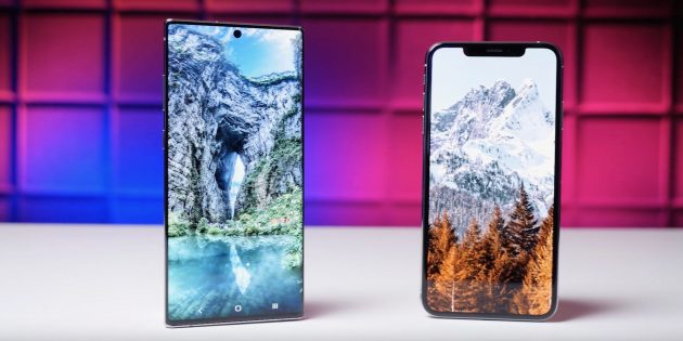 Samsung Galaxy Note 10+ VS iPhone XS Max