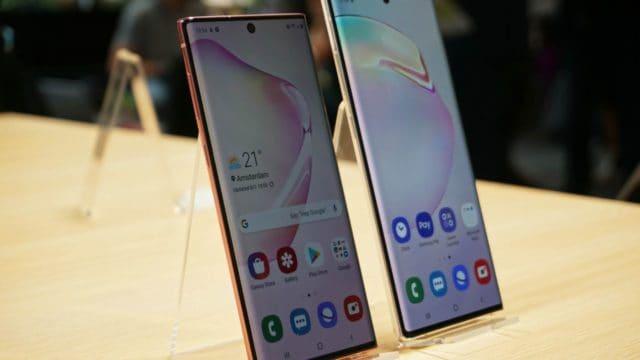 Samsung Galaxy Note 10 e 10+