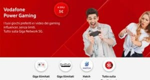 Come disattivare Vodafone Power Gaming