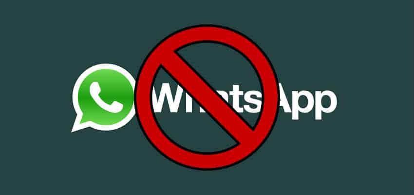 ban Whatsapp