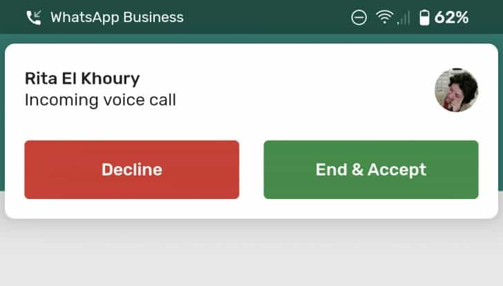 Aggiornamento Whatsapp