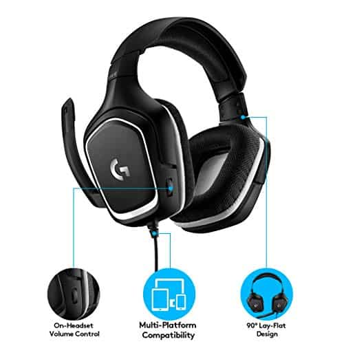 Logitech G332 Special Edition Cuffie Gaming Cablate, Audio Stereo