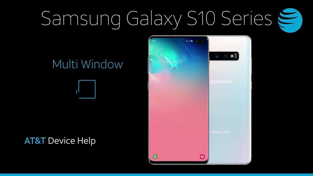 Come usare il multi window per utilizzare più app insieme su Samsung Galaxy S10