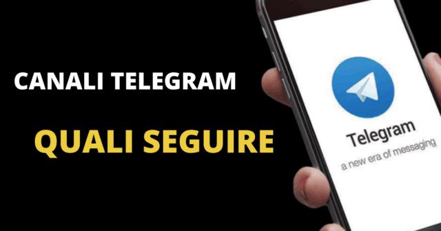 migliori canali telegram da seguire