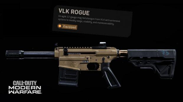 sbloccare gratis lo Shotgun VLK Rogue in Warzone