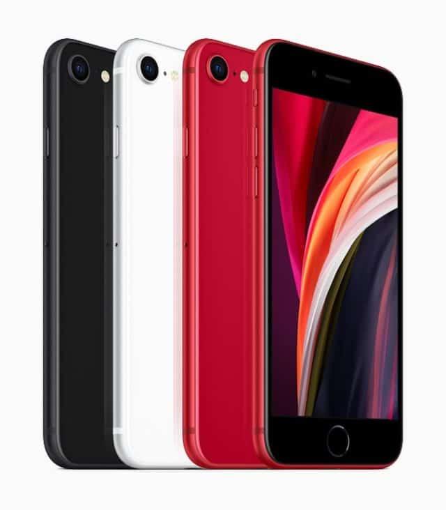 iPhone SE 2020 Nero Bianco RED