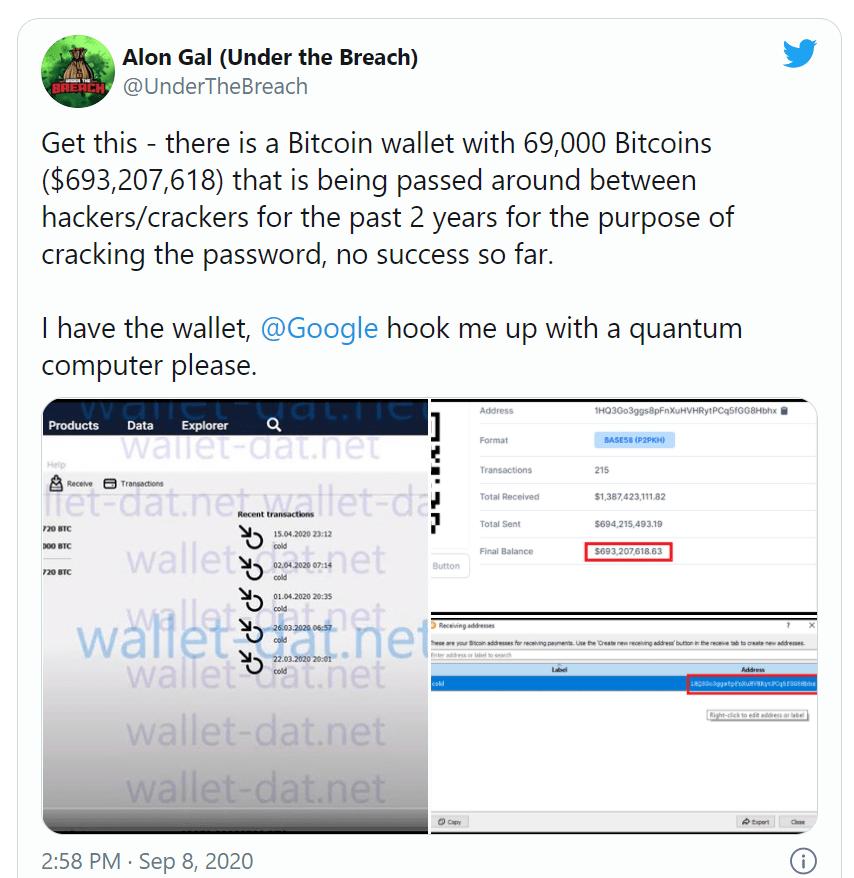 69.000 bitcoin