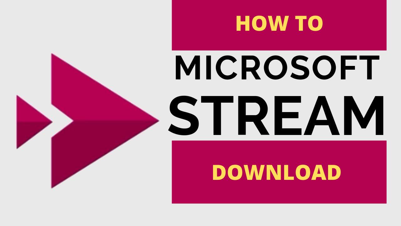 scaricare video da microsoft stream