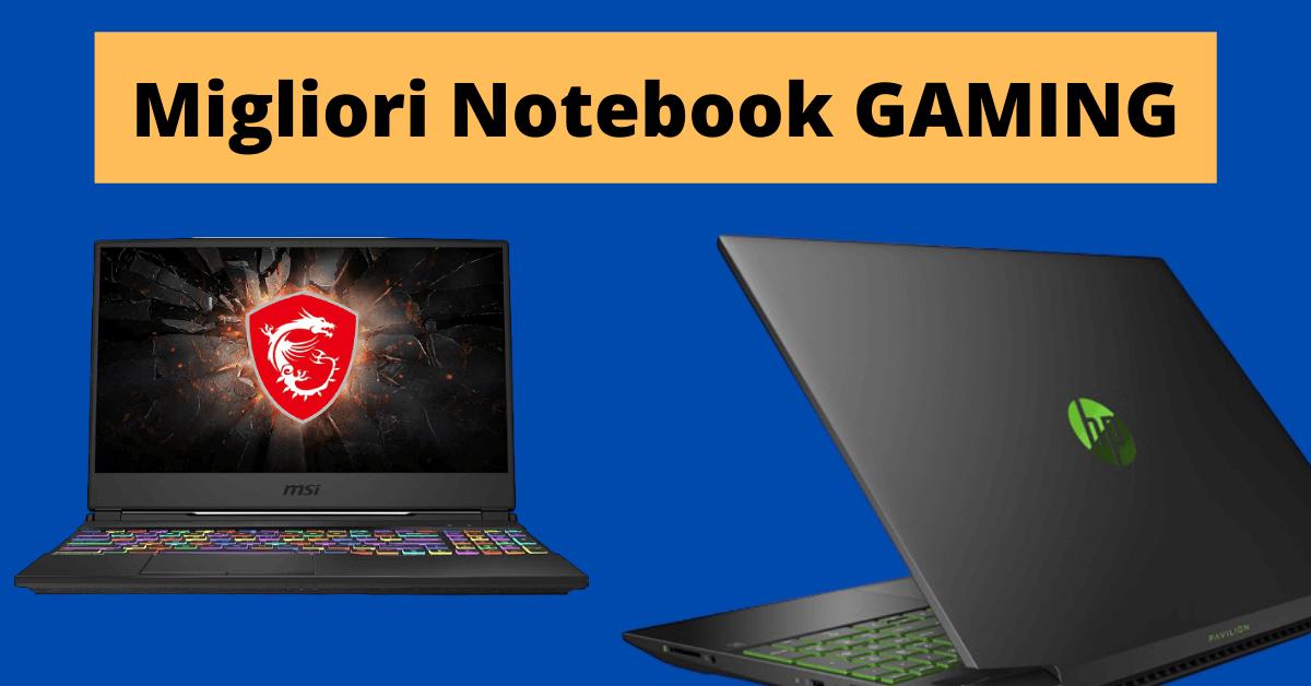 migliori notebook da gaming